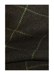 alan paine avocado tweed swatch
