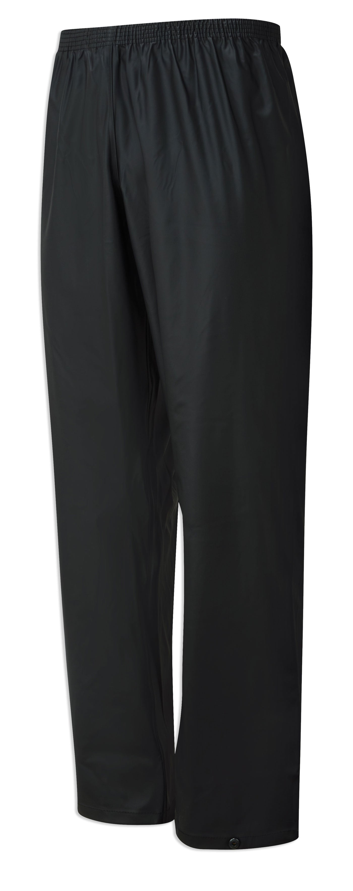 Black waterproof trousers from castle protective clothing