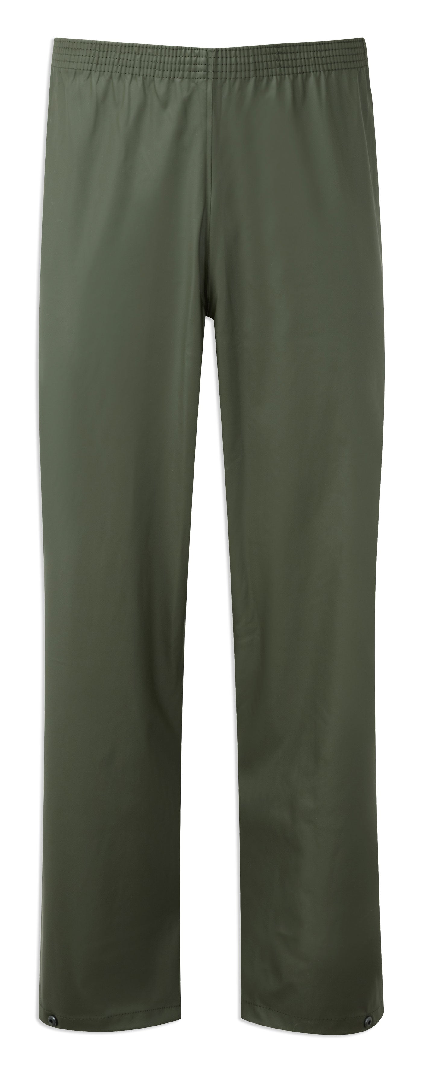 Qlive green waterproof trousers from castle protective clothing
