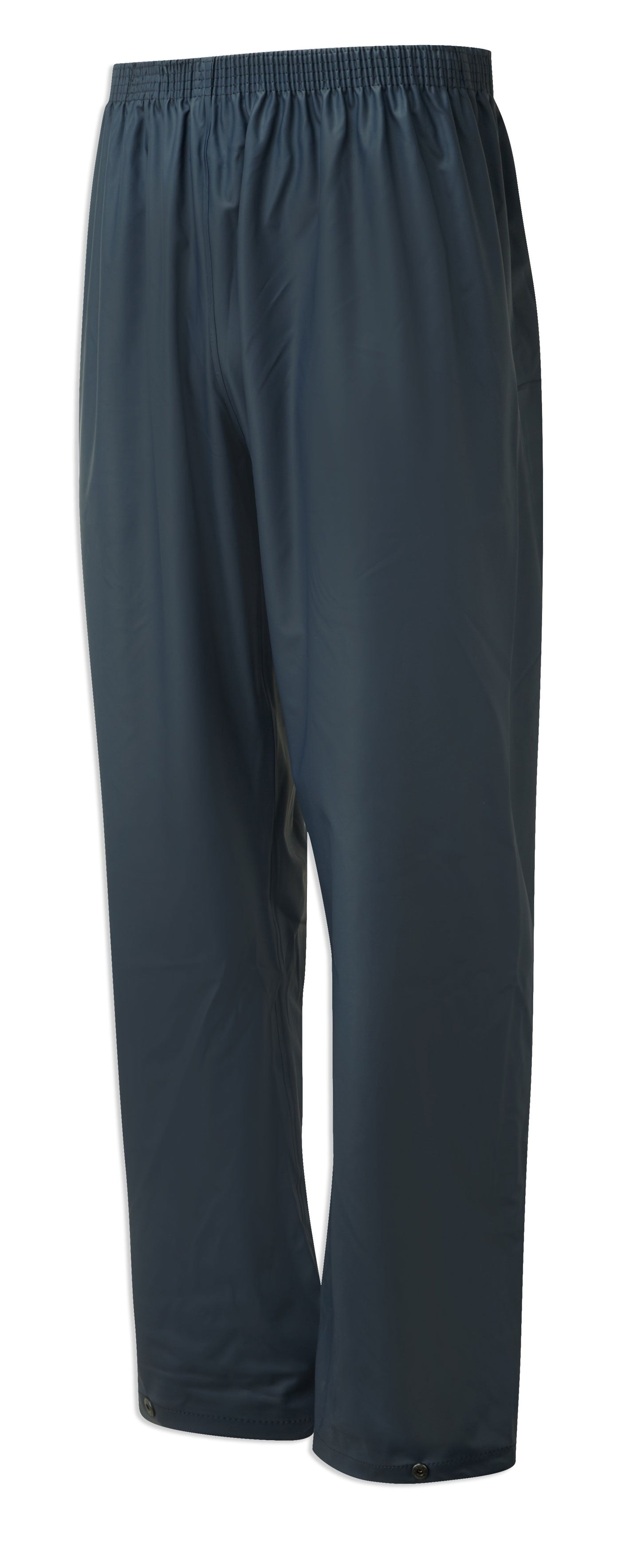 Navy blue waterproof trousers from castle protective clothing