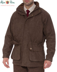 Alan Paine Cambridge Waterproof Jacket colour oak