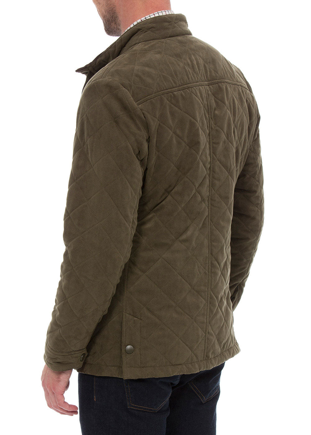 Back view felwell country jacket