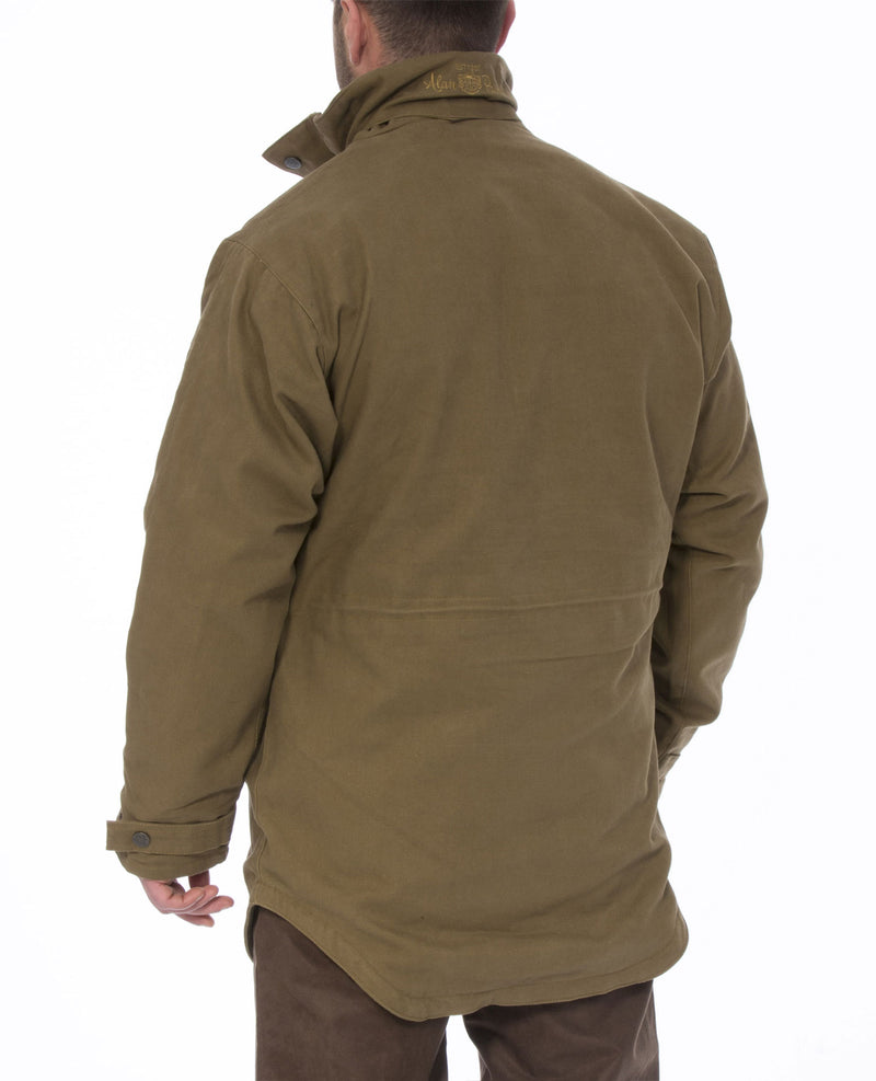 Back view Alan Paine Kexby Waterproof Smock