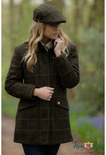 lady wears combrook  highly practical ladies tweed is waterproof