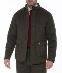 wool cloth Alan Paine Loden Quilted Jacket