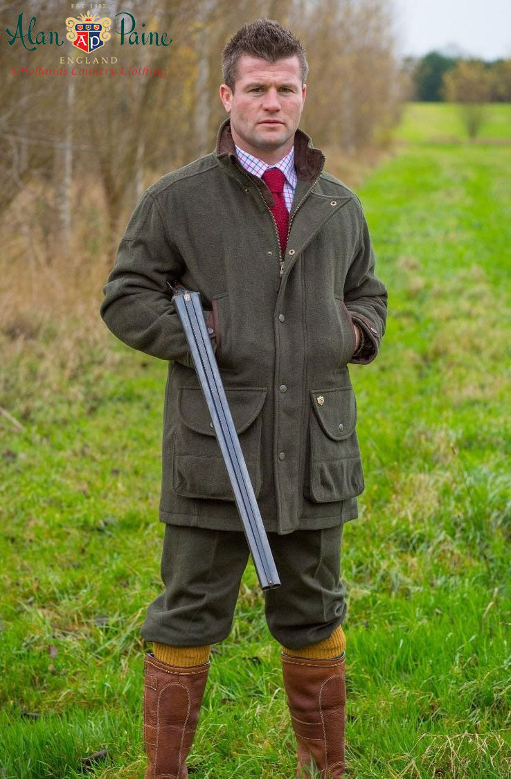 alan paine loden shooting outfit