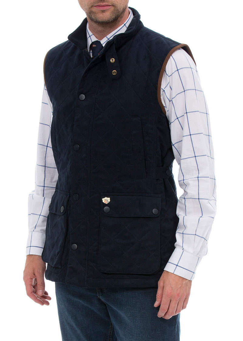 Felwell Men's Quilted Waistcoat by Alan Paine