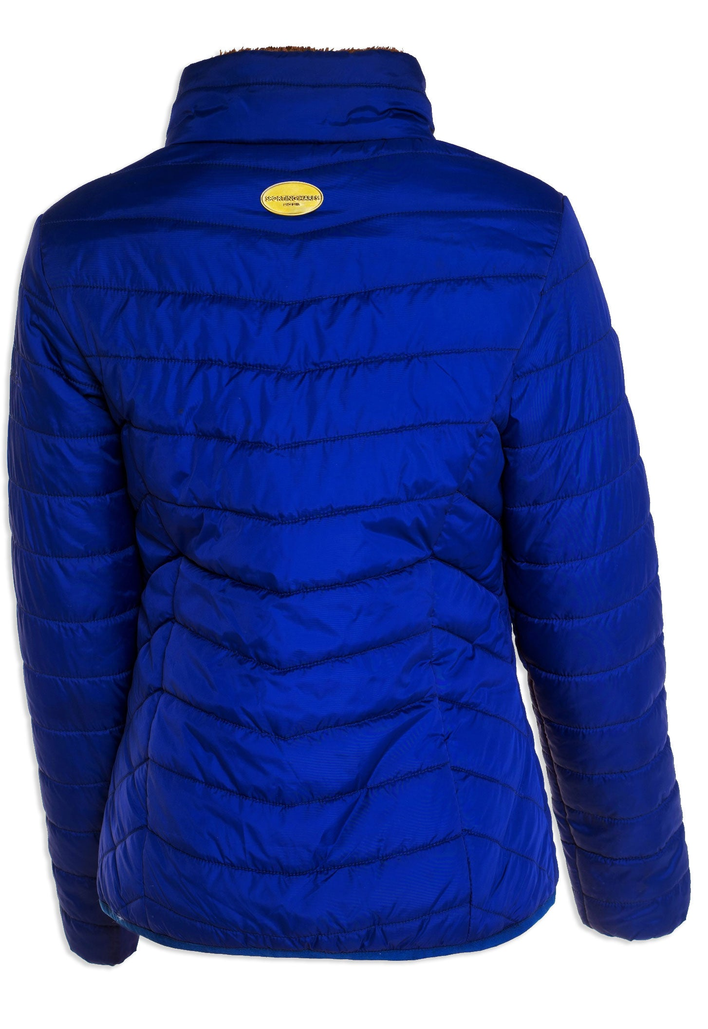 back view Sporting Hares Alderbury Quilted Jacket