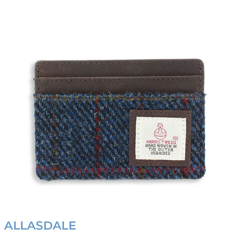 Allasdale British Bag Co. Harris Tweed Card Holder