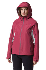 hood up Horizon Waterproof Ladies Jacket by Craghoppers