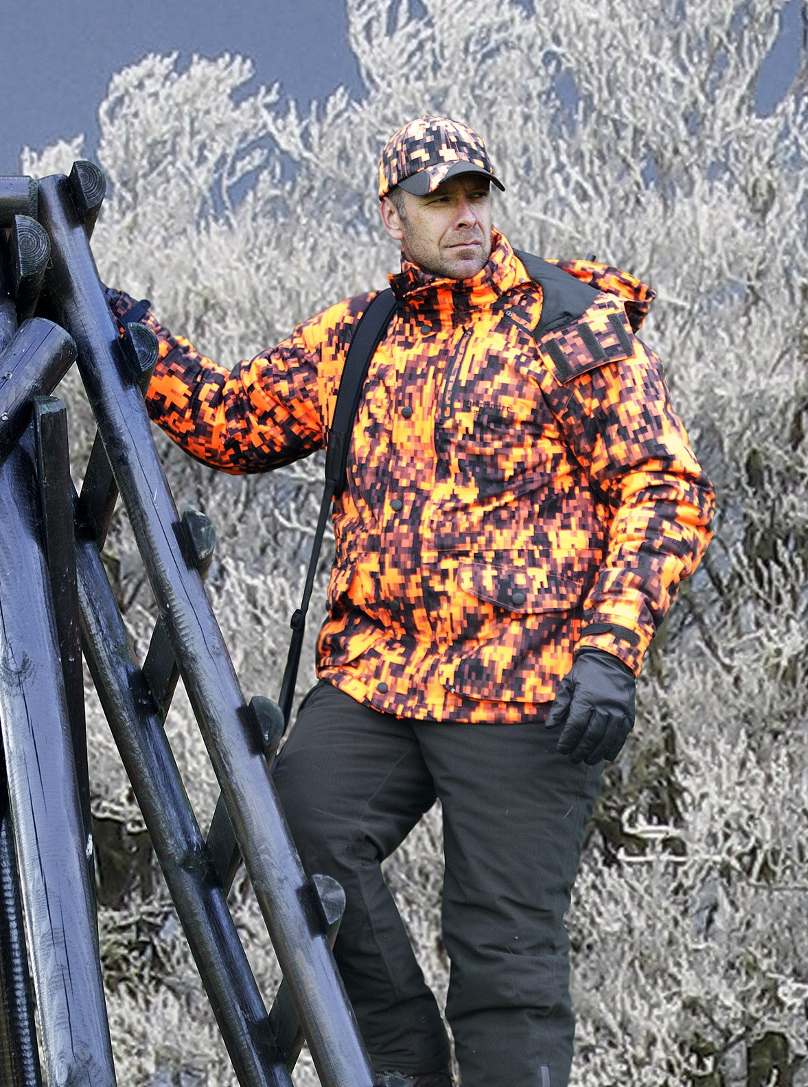 man up ladder Deerhunter Recon Arctic Jacket