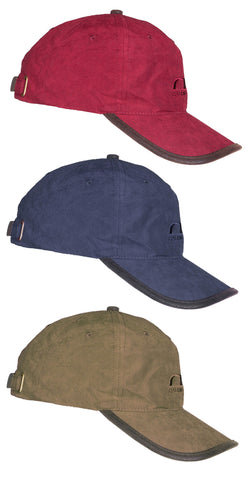 Baleno Ashford Cap in Burgundy, Navy, Light Khaki