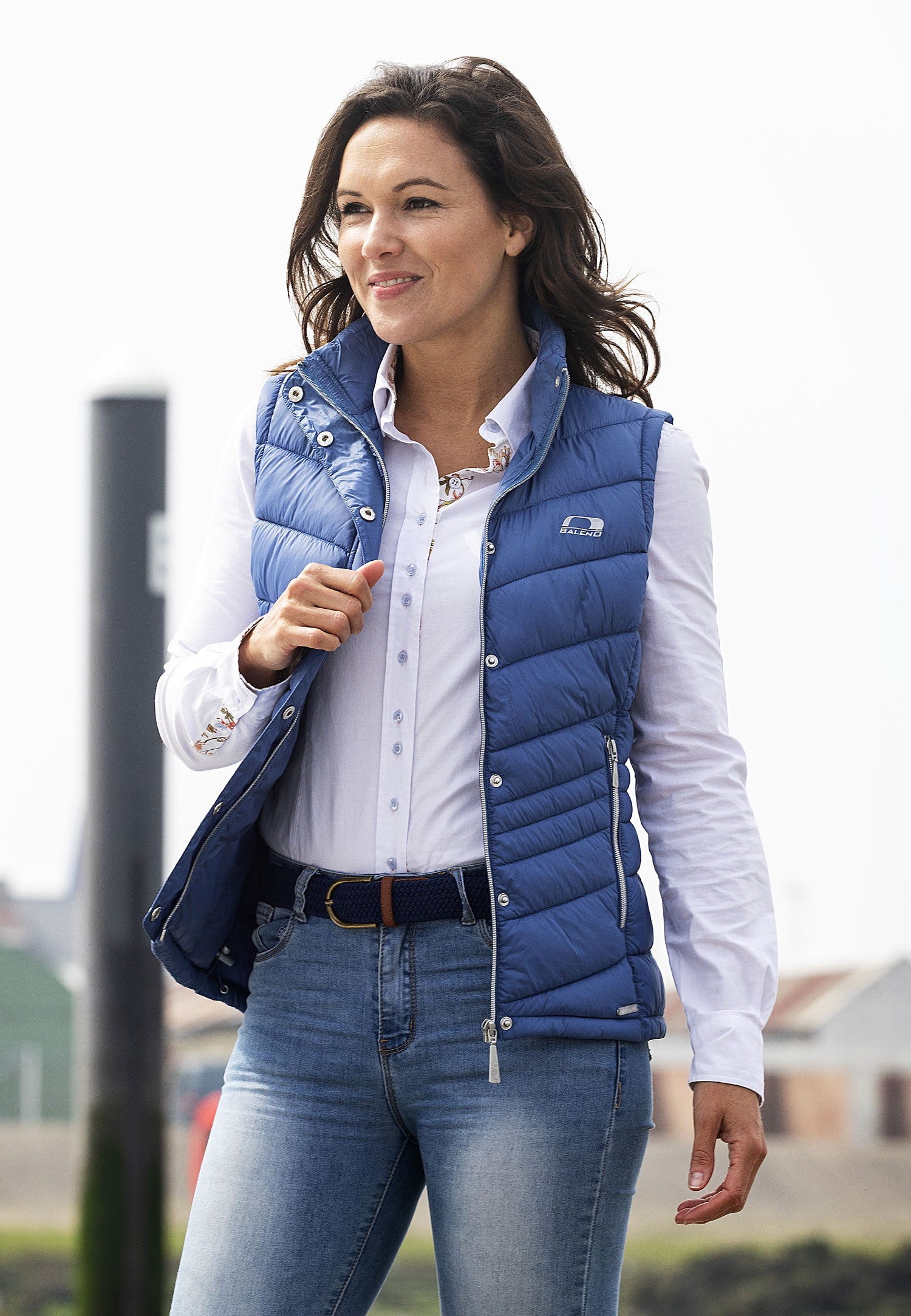 woman wearing Baleno Astrid Quilted Gilet