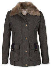 Aurnia II Ladies KNOCKMORE Blue green grey Tweed Jacket JACK MURPHY JAC 521