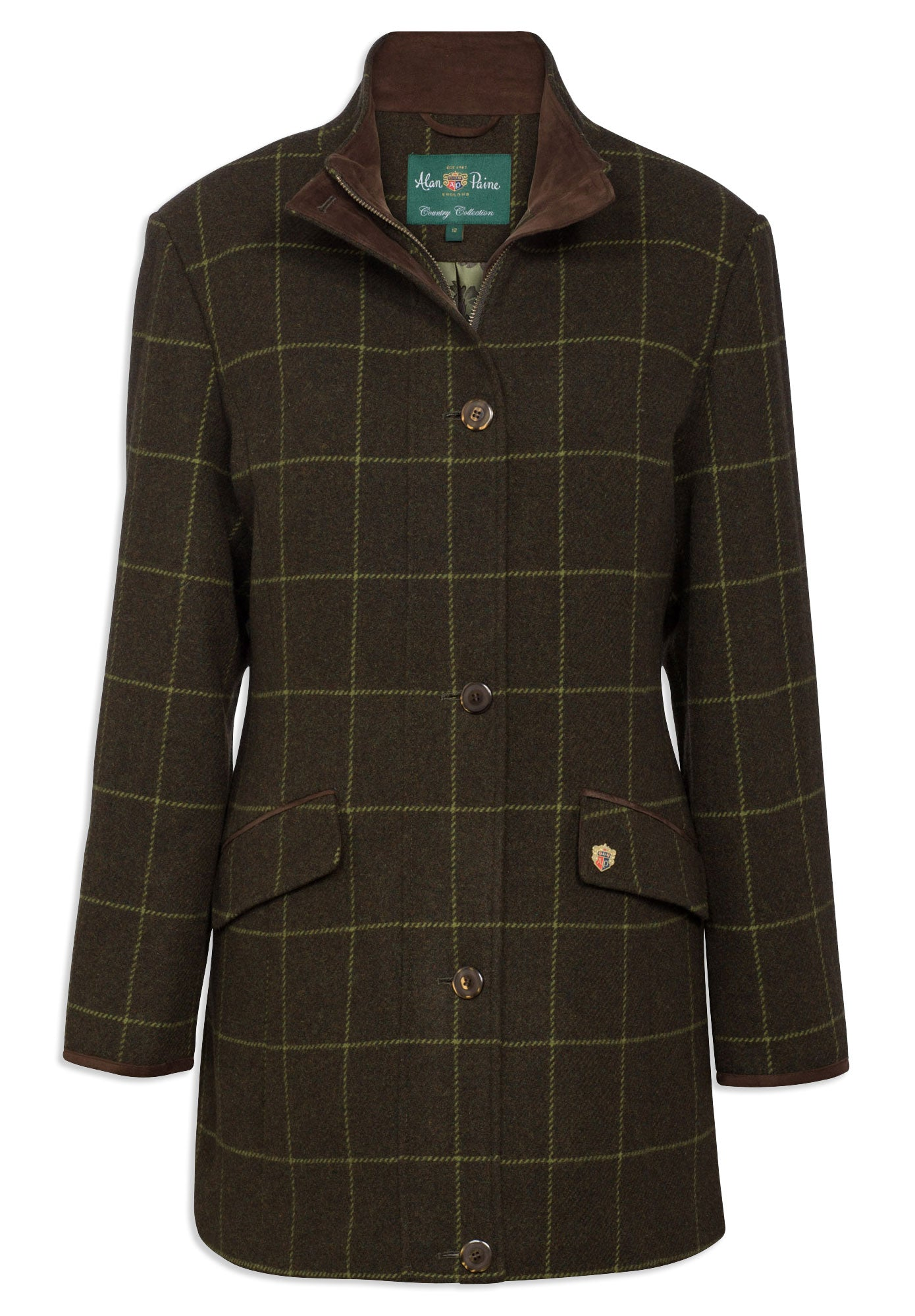 Alan Paine Combrook Field Jacket | Avocado Green