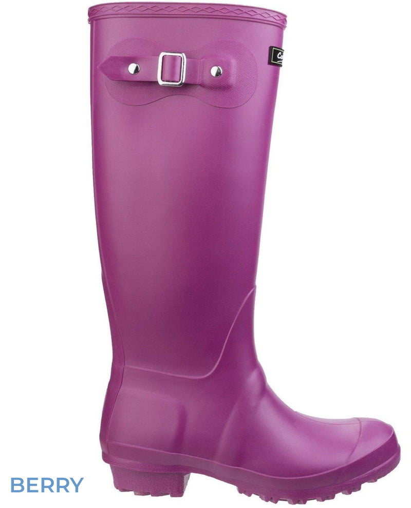 Berry Cotswold Sandringham Buckle Strap Wellingtons