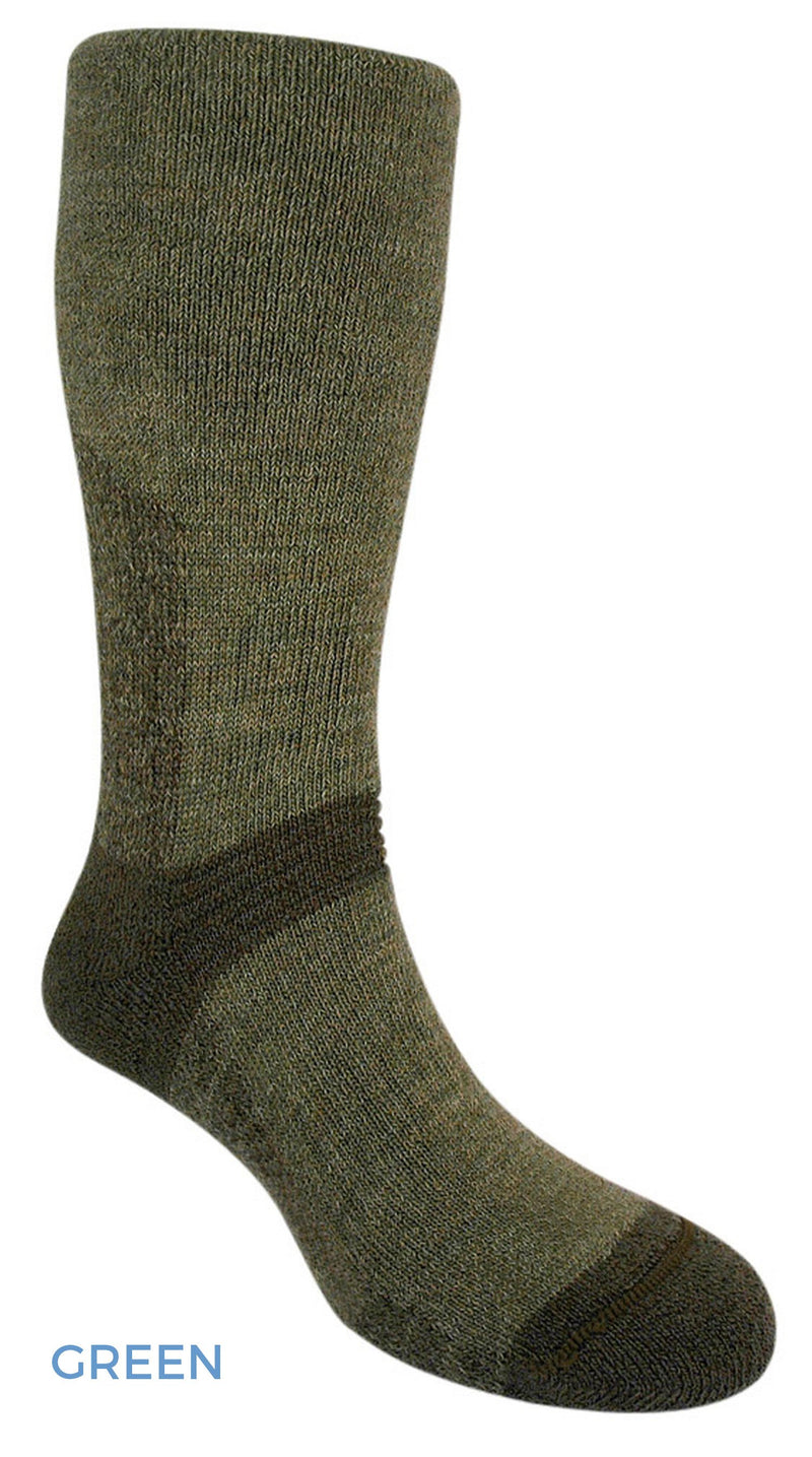 Olive Bridgedale Explorer Heavyweight Sock