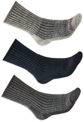 Bridgedale Hike Midweight Comfort Sock | Charcoal, Stone Grey, Navy