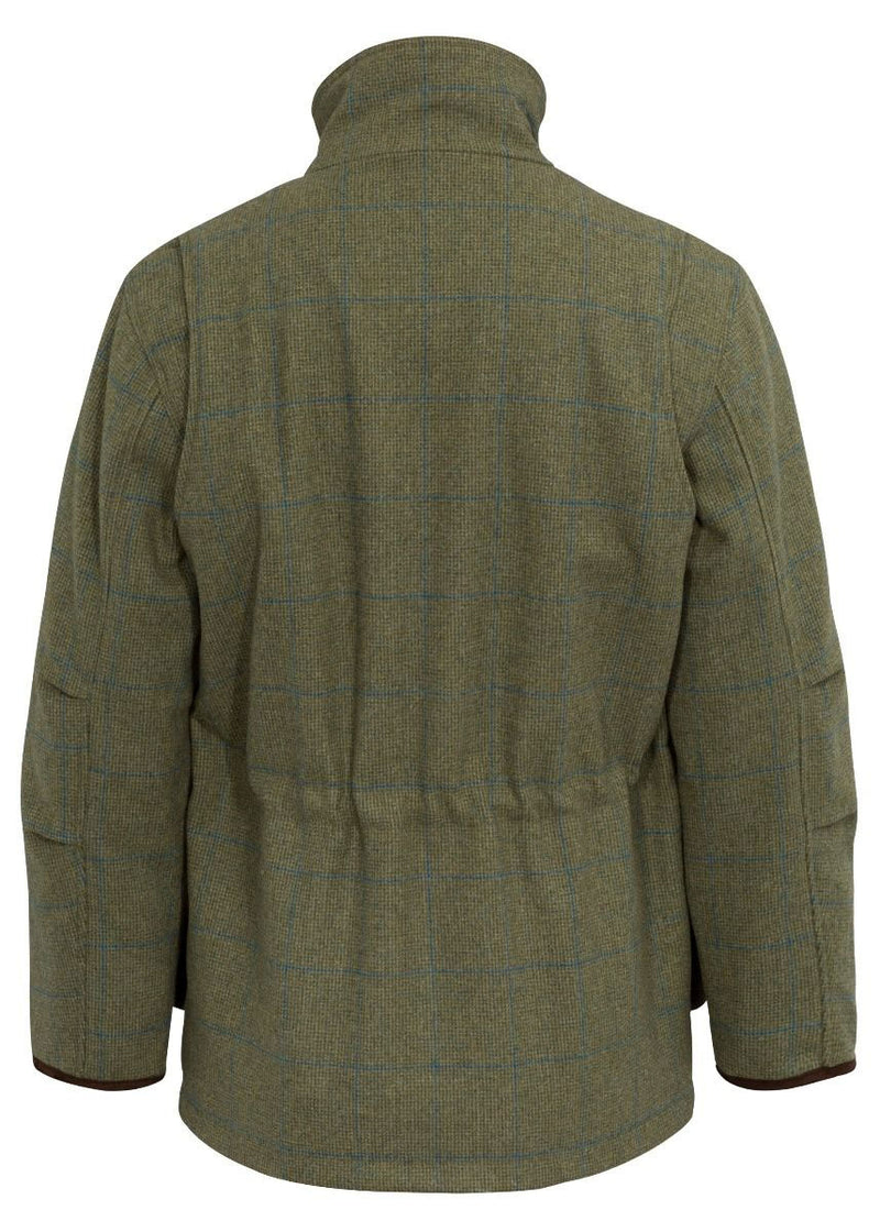 Back View Combrook Men's Tweed Shooting Field Coat by Alan Paine