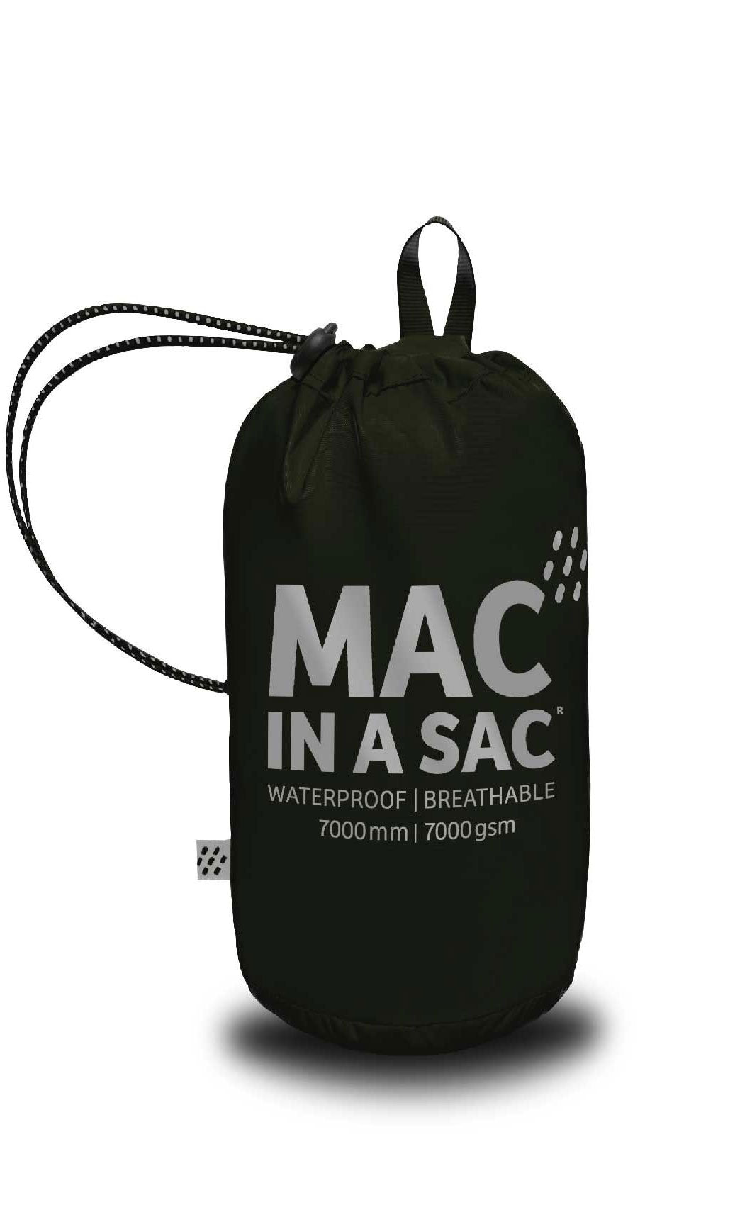 Black Mac In A Sac Origin Waterproof Packaway