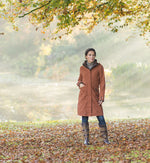 under trees Chelsea 3/4 Length Waterproof Breathable Coat by Baleno