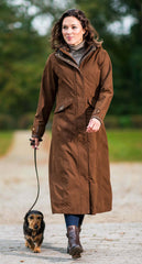 Kensington Waterproof Breathable Coat by Baleno in brown