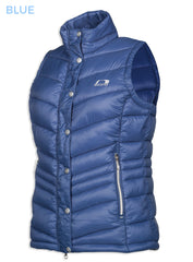 Astrid Ladies Quilt Waistcoat by Baleno in Blue