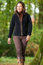 walking in the woods Baleno Sarah Ladies Fleece Jacket