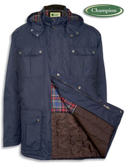balmoral coat opens to reveal warm lining