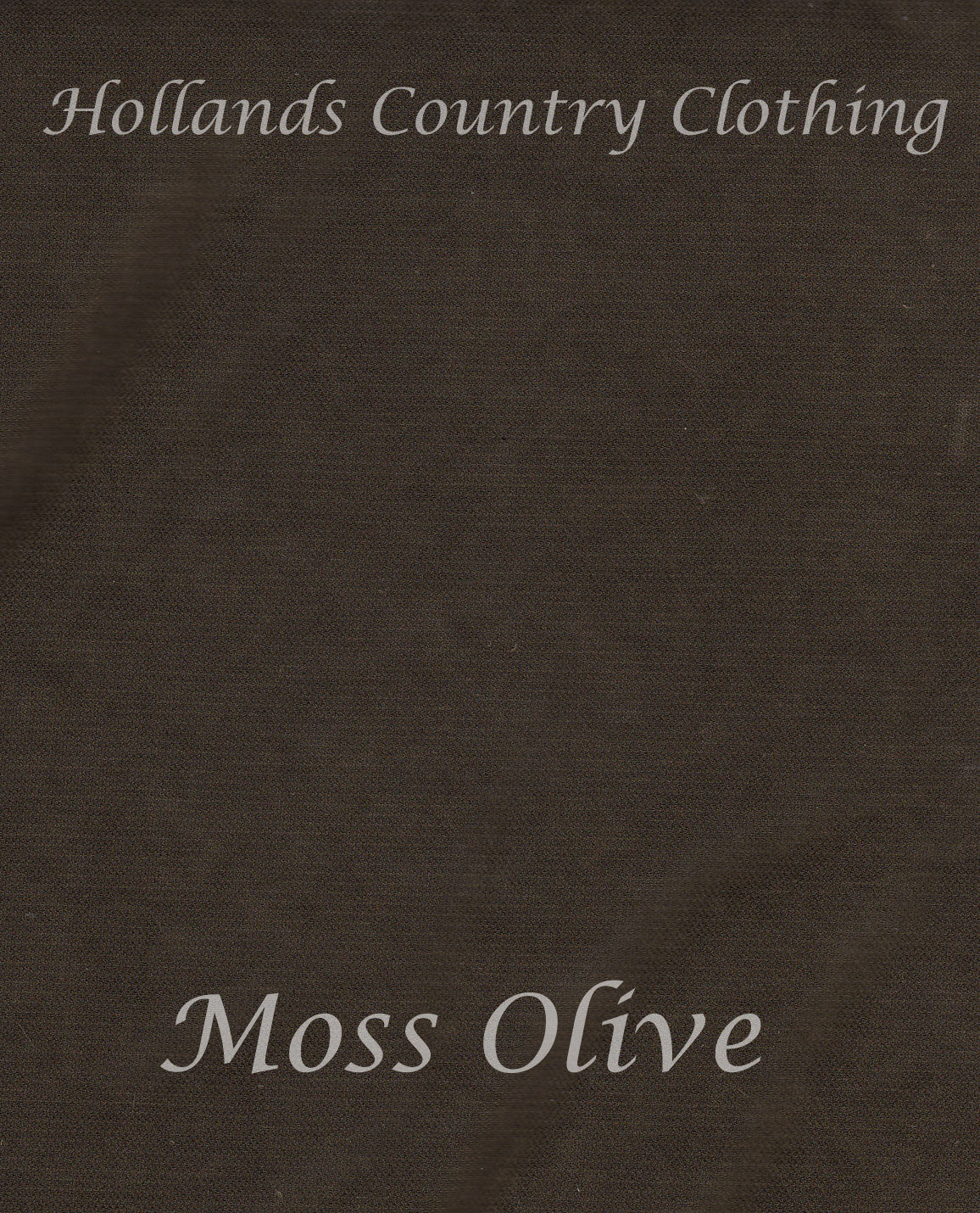 moss olive colour swatch