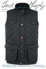 Barry AFT 8 Men's Quilted Bodywarmer JACK MURPHY BOD 124