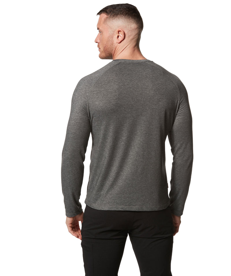 rear view black pepper sweat top
