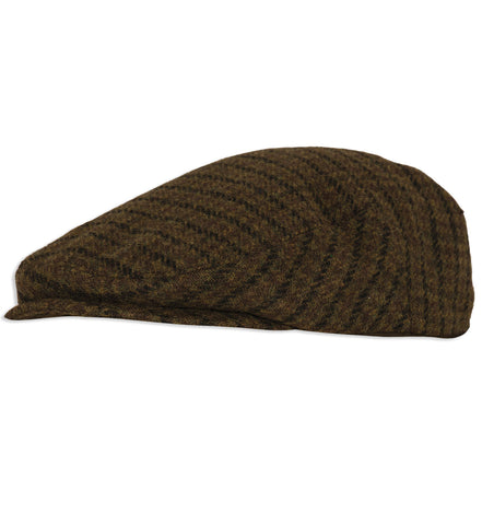 Deerhunter Beaulieu Tweed Flat Cap