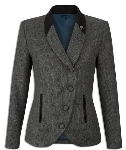 ladies beth in knockmore tweed jacket by jack murphy