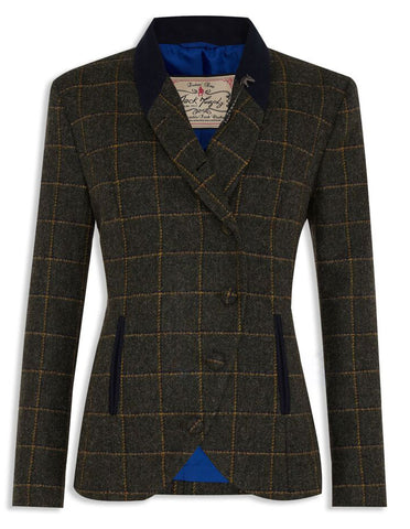 Jack Murphy Beth Jacket in Country Green Tweed