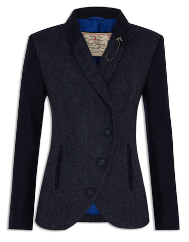 Jack Murphy Beth Jacket in Navy Tweed | Stylish Ladies Tweed
