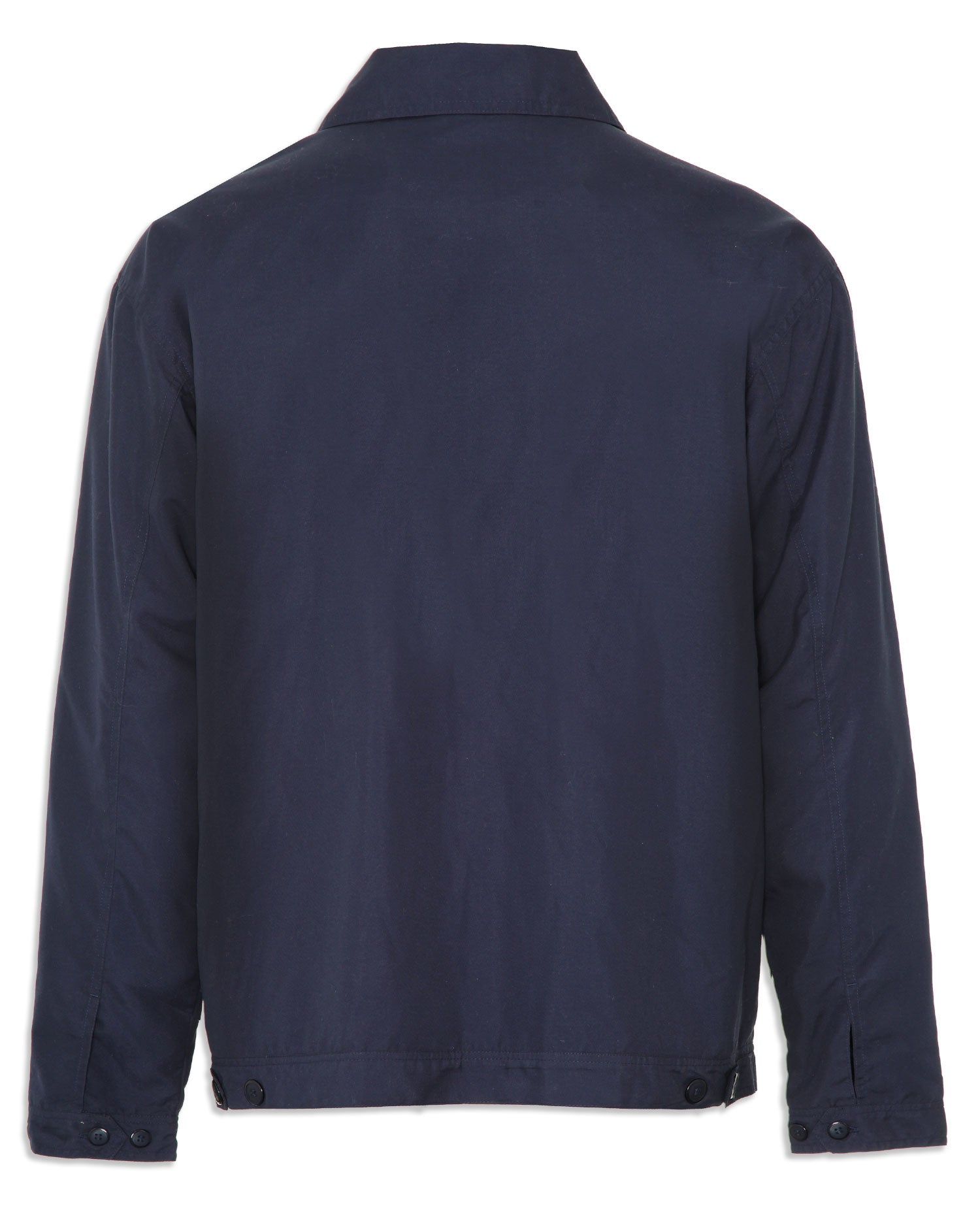 Champion birkdale jacket in navy with zip front,