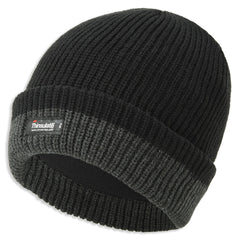 Thinsulate Thick Knit Two Tone Thermal Cap