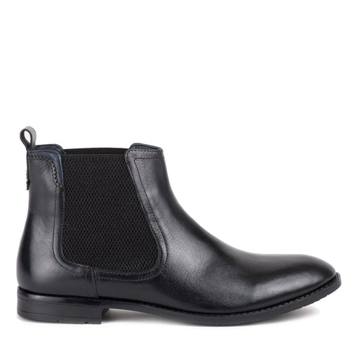elastic gusset Goodwin Smith Camden Dealer Boot | Black