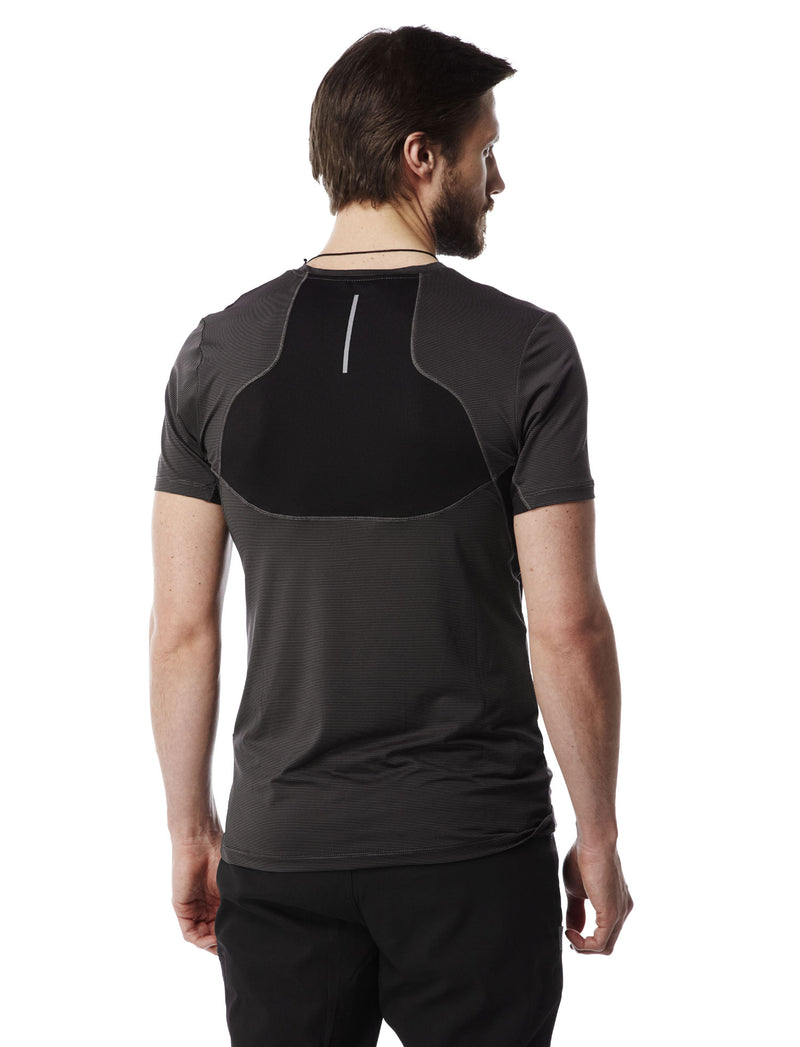 back view black pepper Fusion T-Shirt by Craghoppers