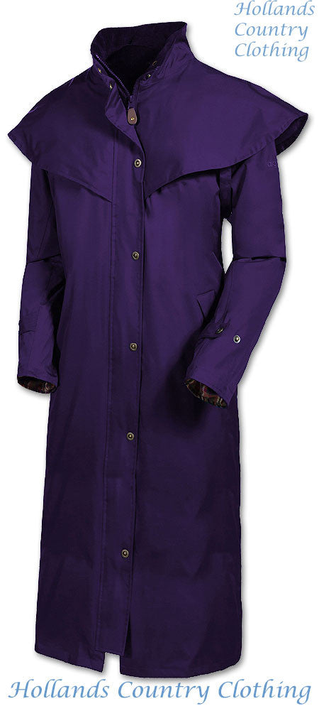 black berry Target Dry Outback 2 Full Length Long Waterproof Coat.