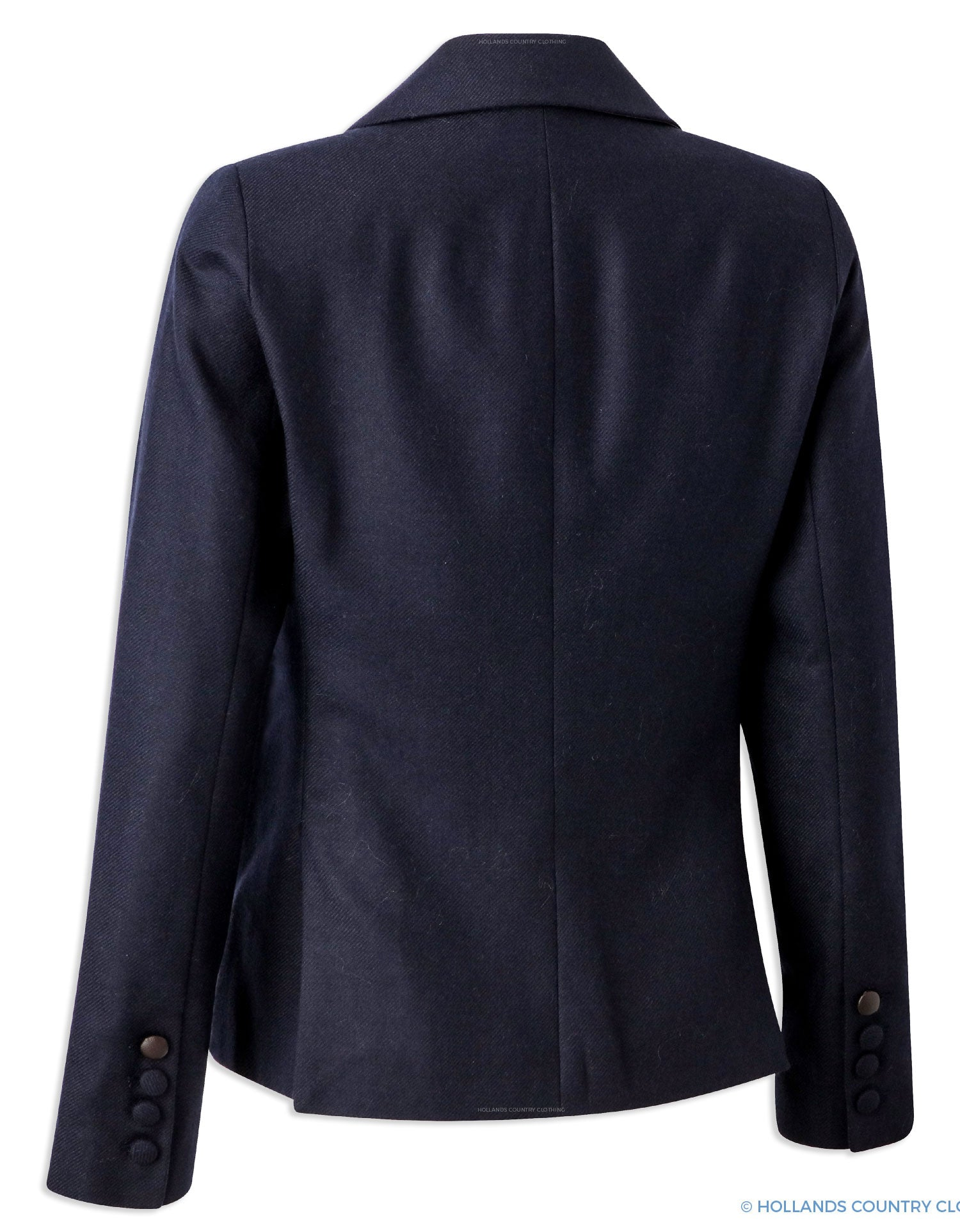 Back View Hartwell Paris Country Jacket | Navy
