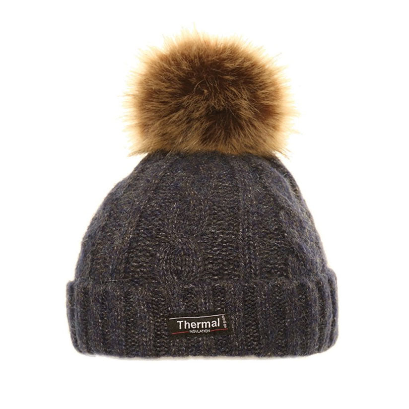 Thinsulate Cable Knit Bobble Hat – Hollands Country Clothing 16fc2510960