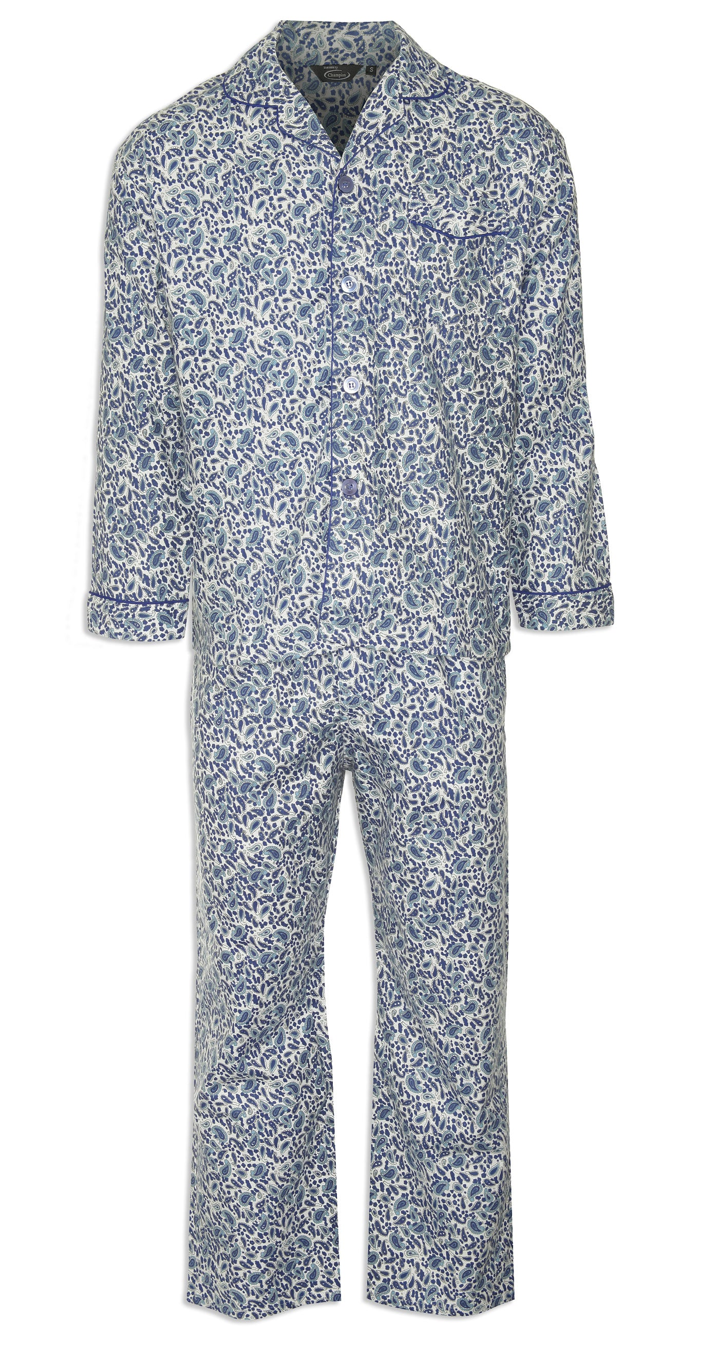 d77754fa05fdc Champion Paisley Pyjamas 100% Cotton – Hollands Country Clothing
