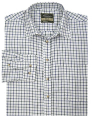 blue Salisbury Tattersall Country Check Shirt by Champion