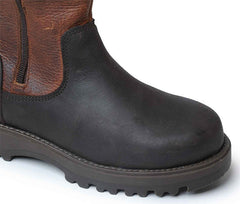 Catesby Blenheim Ladies Leather Country Boot showing toecap and sole