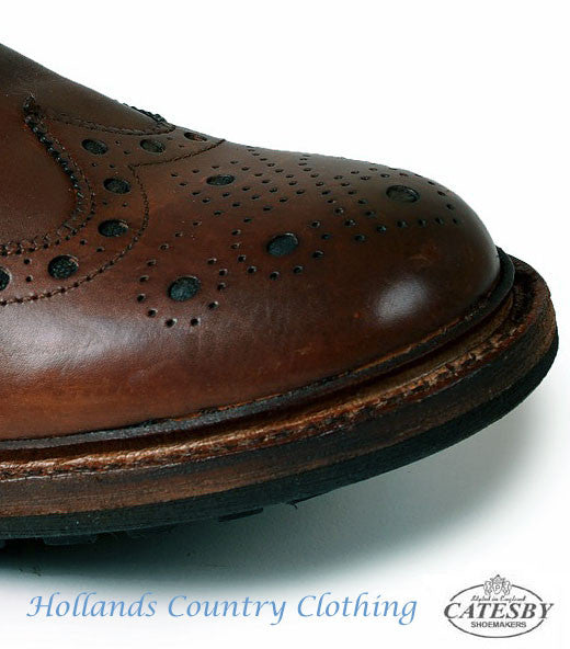 Catesby Brogue Leather SHOE with