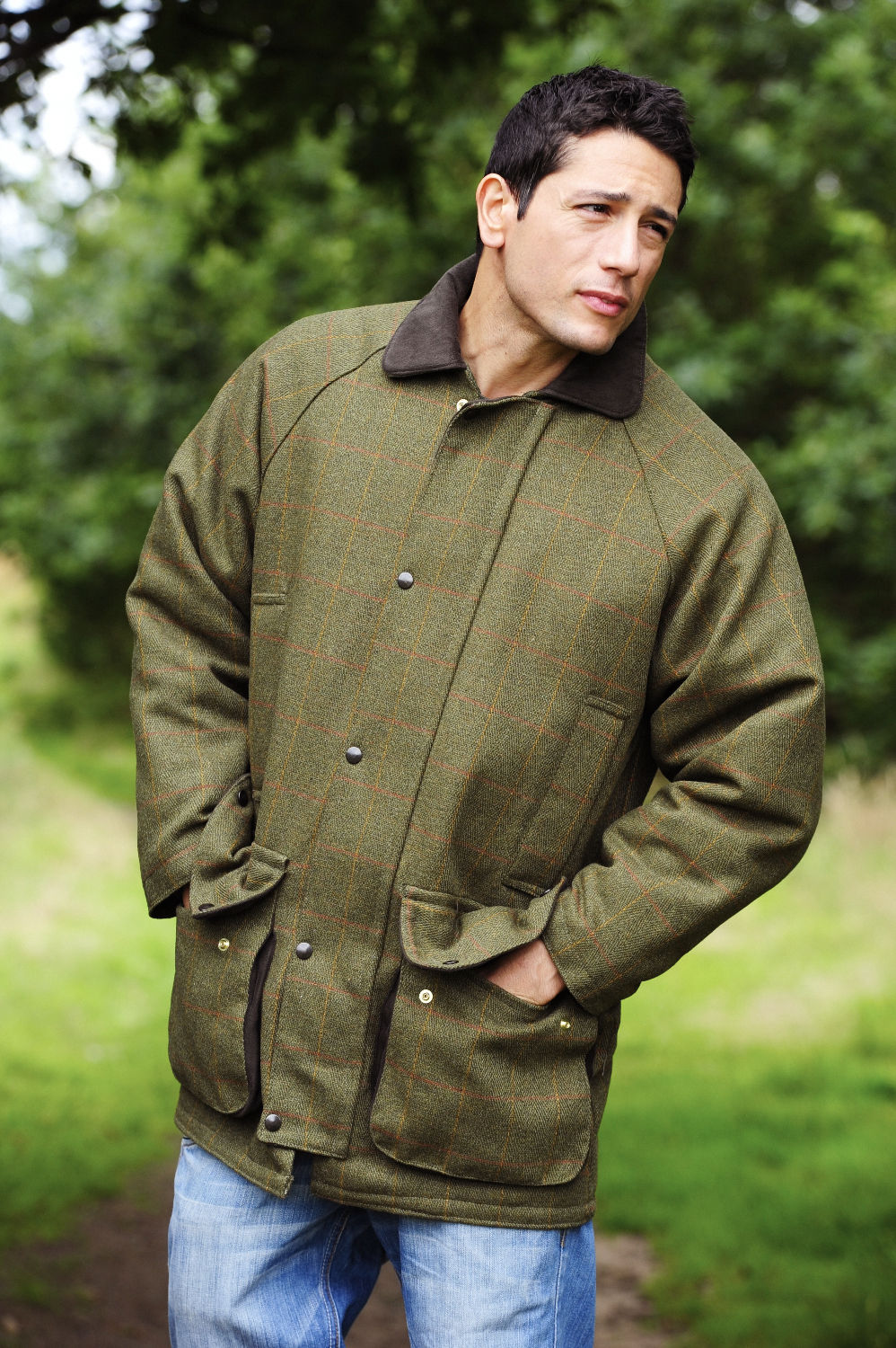 135406461b3e1 Derby Tweed Shooting Jacket | Bronte – Hollands Country Clothing