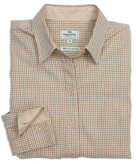 Hoggs of Fife Brook Ladies Cotton Tattersall Shirt