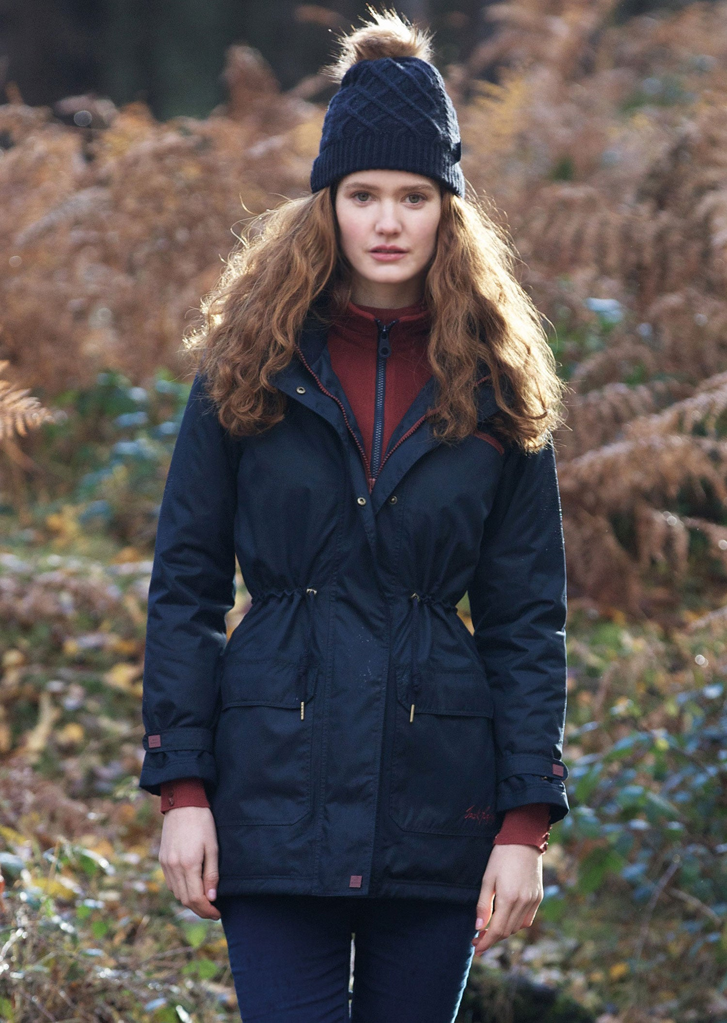 the ultimate dog walker's coat Brooke is all that and more, waterproof and breathable